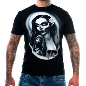 tee-shirt pour hommes ART BY EVIL - Sugar Face - Noire, ART BY EVIL