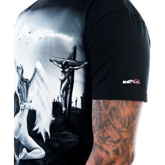 tee-shirt pour hommes ART BY EVIL - Reborn - Noire, ART BY EVIL