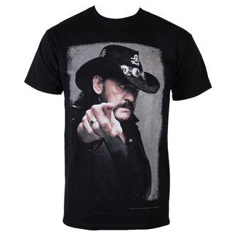 tee-shirt métal pour hommes Motörhead - Lemmy Pointing Photo - ROCK OFF, ROCK OFF, Motörhead