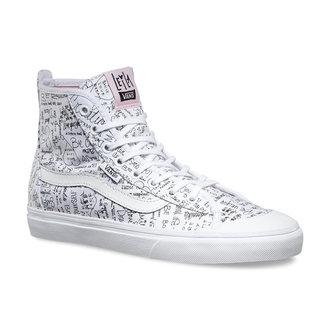 chaussures de tennis montantes pour femmes - Dazie-HI (Leila) TR - VANS - V19NIG1