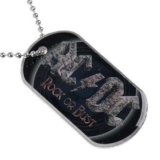 collier (de chien plaque) AC / DC - Rock Or Bust - RAZAMATAZ, RAZAMATAZ, AC-DC