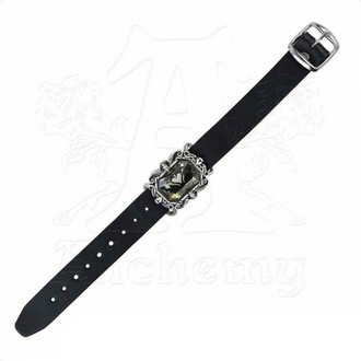 bracelet ALCHEMY GOTHIC - Noire Swan de Dragonne, ALCHEMY GOTHIC