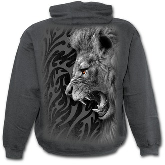 sweat-shirt avec capuche enfants - Tribal Lion - SPIRAL, SPIRAL