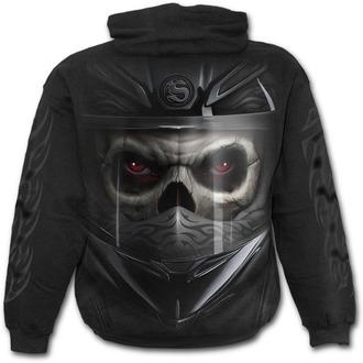 sweat-shirt avec capuche pour hommes - Demon Biker - SPIRAL - T123M451