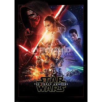 affiche Étoile Wars - Episode VII - One Feuille - PYRAMID POSTERS, PYRAMID POSTERS