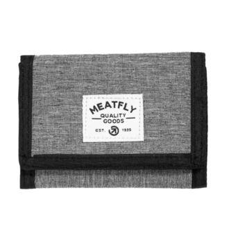 Portefeuille MEATFLY - LANCE - C - 1/26/55 - Gris chiné - Noir, MEATFLY