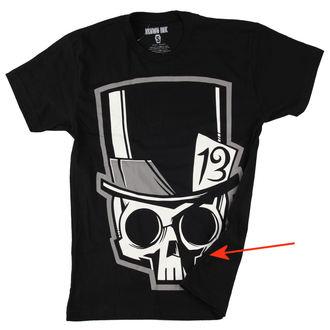 tee-shirt pour hommes Akumu Ink - Skull13 - Grey- ENDOMMAGÉ, Akumu Ink