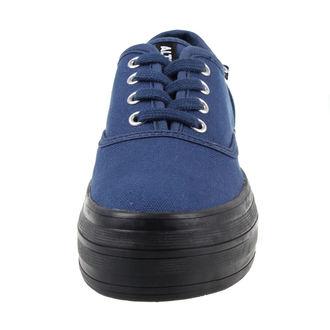 chaussures de tennis basses pour femmes - Navy - ALTERCORE, ALTERCORE