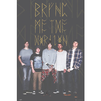 affiche Bring Me The Horizon - groupe Noire, GB posters, Bring Me The Horizon