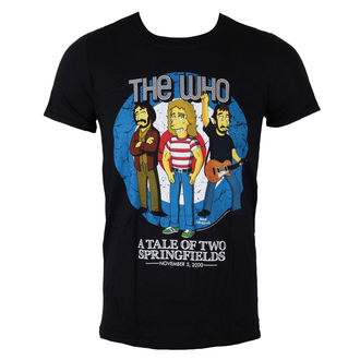 tee-shirt métal pour hommes Who - The Who Bullseye (Simpsons) - LIVE NATION, LIVE NATION, Who