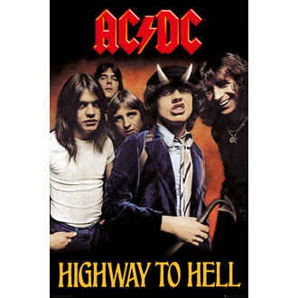affiche AC / DC - Hifgway To Hell - GB affiches - LP2038