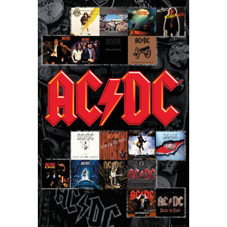 affiche AC / DC - Couvre - GB affiches, GB posters, AC-DC