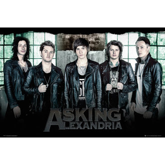 affiche Asking Alexandria - Window - GB affiches, GB posters, Asking Alexandria
