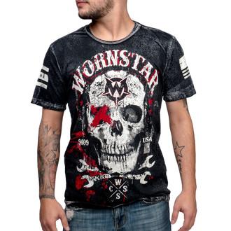 t-shirt hardcore pour hommes - Death Mechanic - WORNSTAR - WSTM-DMEC