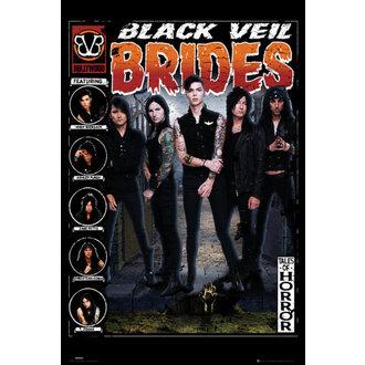affiche Black Veil Brides - Tales of Horreur - GB affiches, GB posters, Black Veil Brides