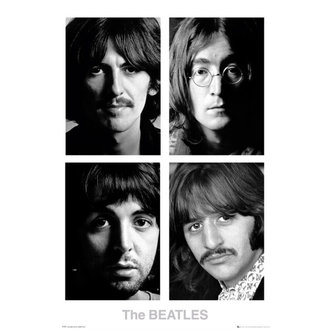 affiche The Beatles - Blanc Album - GB affiches, GB posters, Beatles
