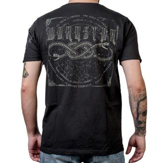 t-shirt hardcore pour hommes - Ouroboros - WORNSTAR, WORNSTAR
