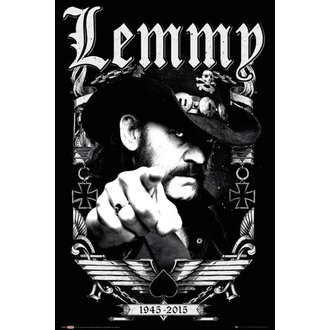 affiche Lemmy - Dates - GB affiches, GB posters, Motörhead