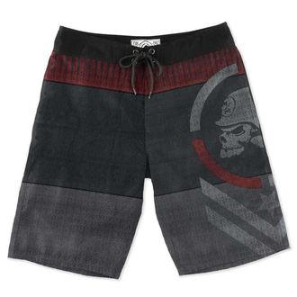 shorts pour hommes (maillot de bain) METAL MULISHA - GLOCK, METAL MULISHA