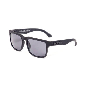 lunettes de soleil MEATFLY - Lever du soleil - F - Noire, MEATFLY