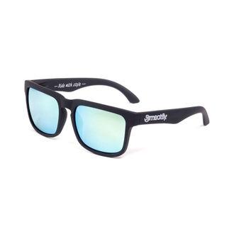 lunettes de soleil MEATFLY - Lever du soleil - G- Noir / Gris, MEATFLY