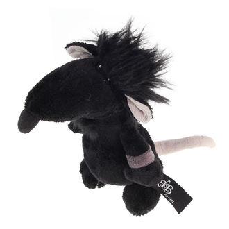peluche jouet ROCK STAR BABY - Rat - Noire, ROCK STAR BABY