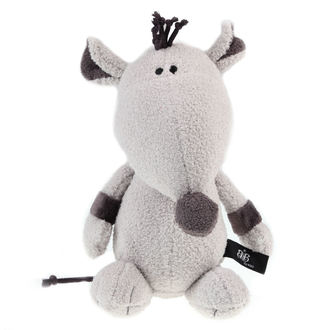 peluche jouet ROCK STAR BABY - Rat - Grey, ROCK STAR BABY