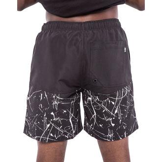 maillot de bain pour hommes (short) IRON FIST - périscolaire - Noir / Blanc, IRON FIST