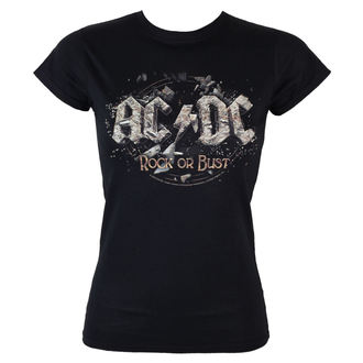 tee-shirt métal pour femmes AC-DC - - LOW FREQUENCY, LOW FREQUENCY, AC-DC
