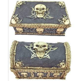 décoration (ensemble boîtes) Skull