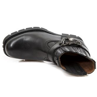 bottes en cuir pour femmes - ITALI MOTORCYCLE NEGRO - NEW ROCK, NEW ROCK