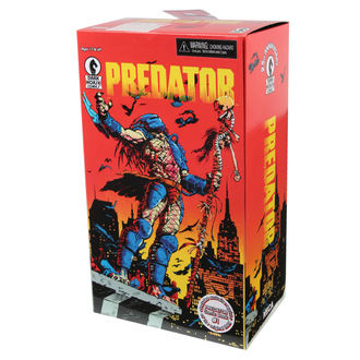 figurine Predator - 25th Anniversary Dark Cheval Comic Book, NECA