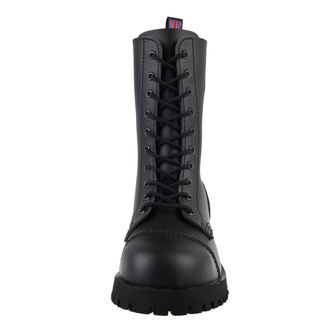 chaussures NEVERMIND - 10 trous - Vegan - Noire Synthetic, NEVERMIND