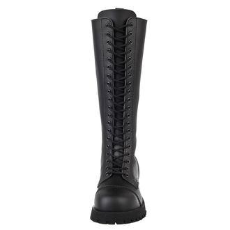 chaussures NEVERMIND - 20 trous - Vegan - Noire Synthetic, NEVERMIND