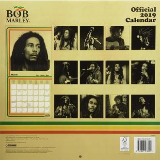 Calendrier 2019 BOB MARLEY, NNM, Bob Marley