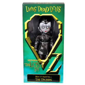 poupée LIVING DEAD DOLLS - Bride Of Valentine As The Tin Man, LIVING DEAD DOLLS