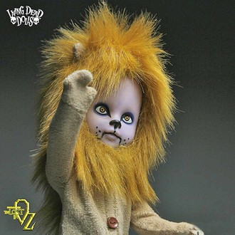 poupée LIVING DEAD DOLLS - Teddy as The Lion, LIVING DEAD DOLLS