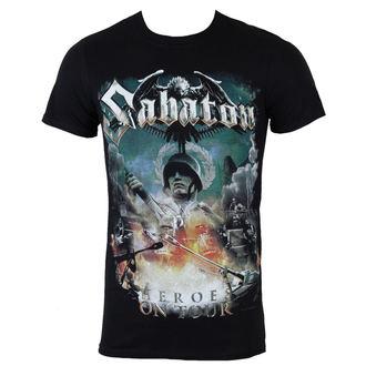 tee-shirt métal pour hommes Sabaton - Heroes on tour - NUCLEAR BLAST, NUCLEAR BLAST, Sabaton