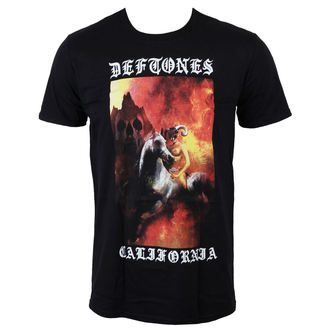 tee-shirt métal pour hommes Deftones - California - LIVE NATION, LIVE NATION, Deftones