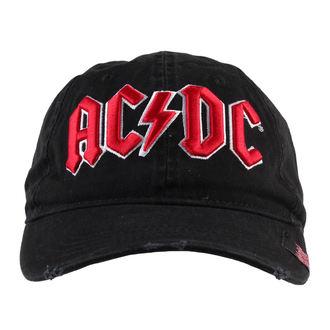 casquette AC / DC - Noire - F.B.I.., F.B.I., AC-DC