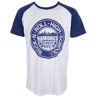 tee-shirt métal pour hommes Ramones - Bowery Nyc - ROCK OFF, ROCK OFF, Ramones