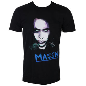 tee-shirt métal pour hommes Marilyn Manson - Oversaturated Photo - ROCK OFF, ROCK OFF, Marilyn Manson