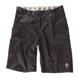 short pour hommes BLACK HEART - Chino - Grey, BLACK HEART