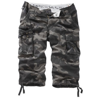 short 3/4 pour hommes SURPLUS - TROOPER LEGEND - NOIRE CAMO, SURPLUS