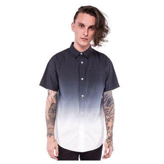 chemise pour hommes IRON FIST - Death Souffle - Dip teint - Noir / Blanc, IRON FIST