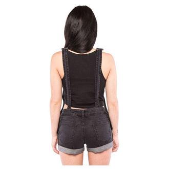 short pour femmes IRON FIST - Wishbone - Noire, IRON FIST
