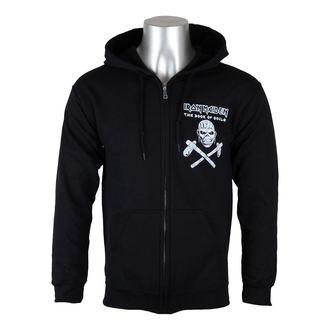 sweat-shirt avec capuche pour hommes Iron Maiden - Eddie Axe White - ROCK OFF