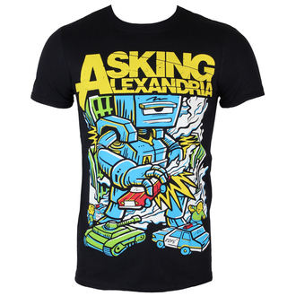 tee-shirt métal pour hommes Asking Alexandria - Killer Robot - ROCK OFF, ROCK OFF, Asking Alexandria