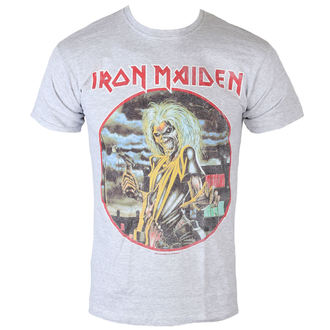 tee-shirt métal pour hommes Iron Maiden - Killers - ROCK OFF, ROCK OFF, Iron Maiden