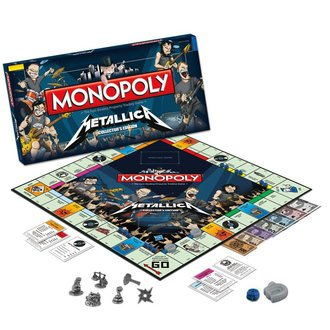 jeu Metallica - Rock Band monopole, Metallica